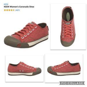 Keen Coronado Canvas Vegan Women's Sneakers - 6